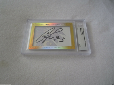 Candace Parker 2014 Leaf Masterpiece Cut Signature certified autograph card 1/1 JSA