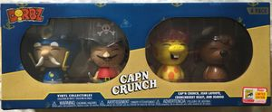 Cap'n Crunch Funko Dorbz 4 Pack with 2018 San Diego Comic-Con exclusive sticker