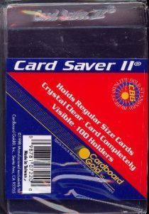 Card Saver 2 semi rigid card holders (pack of 100)