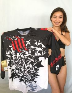 Carey Hart autographed One Industries 2011 Defcon motocross or supercross jersey