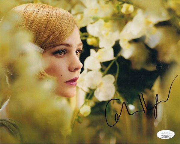 Carey Mulligan autographed The Great Gatsby 8x10 movie photo (JSA)