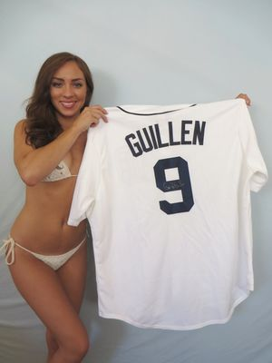 Carlos Guillen autographed Detroit Tigers authentic Majestic game model jersey