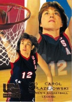 Carol Blazejowski 1994 Flair USA Basketball card