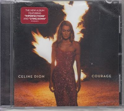 Celine Dion Courage album CD (NEW AND FACTORY SEALED)