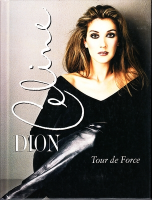 Celine Dion Tour De Force 1998 hardcover photo book