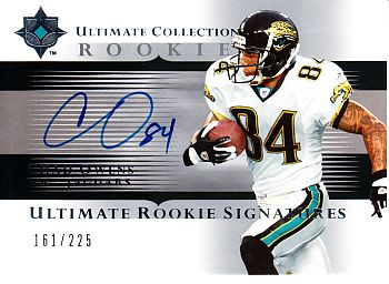 Chad Owens certified autograph 2005 Upper Deck Ultimate Collection Rookie Card #161/225