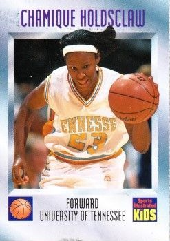 Chamique Holdsclaw Tennessee Lady Vols 1997 Sports Illustrated for Kids card