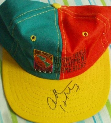 Charles Barkley autographed 1992 Tournament of the Americas cap or hat