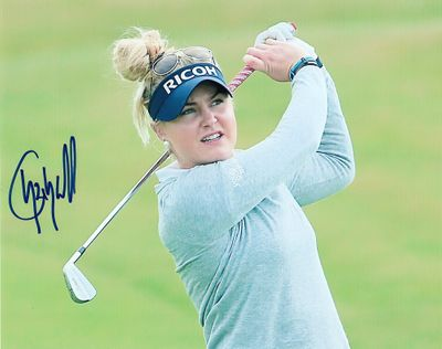 Charley Hull autographed 8x10 photo