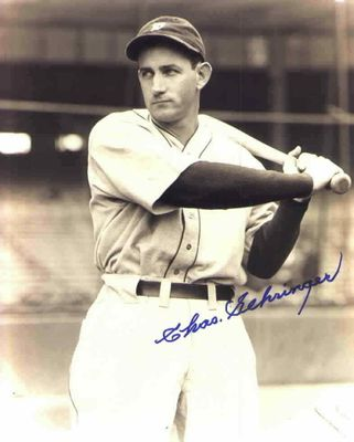 Charlie Gehringer autographed Detroit Tigers 8x10 photo