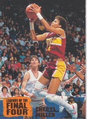 Cheryl Miller USC Trojans 1996 Classic Legends of the Final Four card