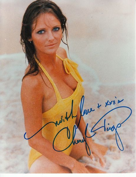 Cheryl Tiegs autographed Sports Illustrated Swimsuit Issue 8x10 photo inscribed With Love