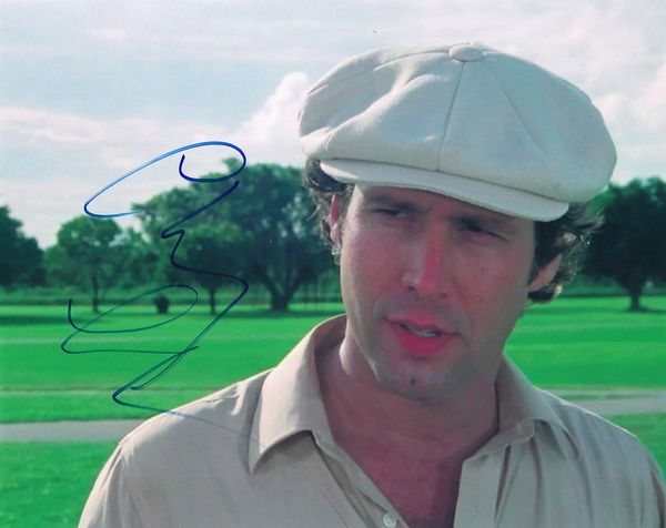 Chevy Chase autographed Caddyshack 8x10 photo
