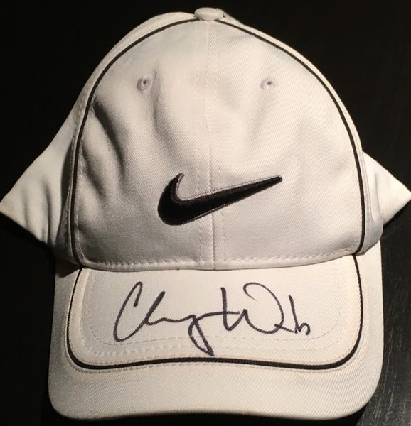 Cheyenne Woods autographed Nike golf cap or hat