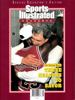 Michael Jordan Phil Jackson Chicago Bulls 1993 NBA Champions Sports Illustrated Presents special issue PRISTINE
