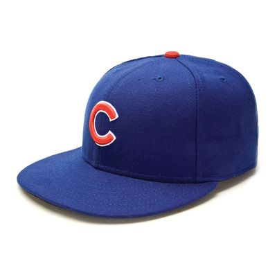 Chicago Cubs authentic New Era game model fitted cap or hat