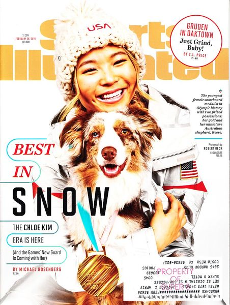 Chloe Kim 2018 Winter Olympics Sports Illustrated