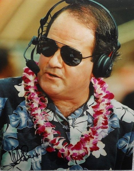 Chris Berman autographed 8x10 Pro Bowl photo
