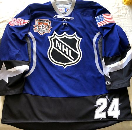 Chris Chelios 2002 NHL All-Star Game Detroit Red Wings authentic CCM stitched size XL jersey