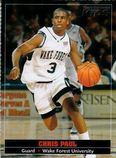 Chris Paul Wake Forest 2005 Sports Illustrated for Kids Rookie Card