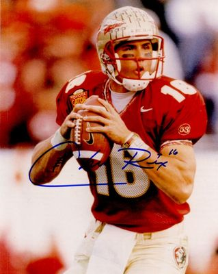 Chris Rix autographed Florida State Seminoles 8x10 photo
