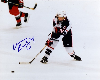 Christine Bailey autographed 1998 USA Women's Hockey Team 8x10 photo