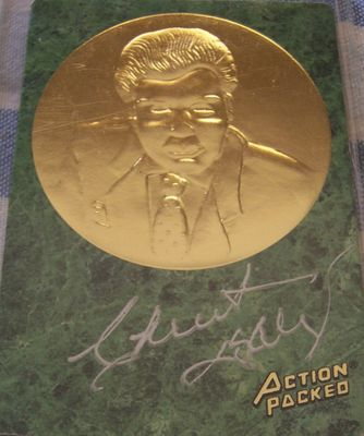 Chuck Daly certified autographed 1994 Action Packed Hall of Fame card