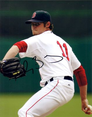 Clay Buchholz autographed Boston Red Sox 8x10 photo