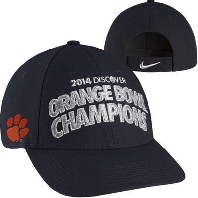 Clemson Tigers 2014 Orange Bowl Champions Nike locker room cap or hat NEW