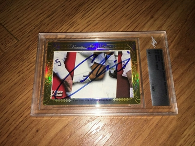 Cobi Jones 2016 Leaf Masterpiece Cut Signature certified autograph card 1/1 JSA