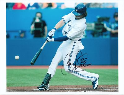 Colby Rasmus autographed Toronto Blue Jays 8x10 photo