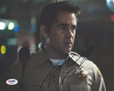 Colin Farrell autographed True Detective 8x10 photo (PSA/DNA)