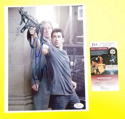 Colin Farrell autographed Total Recall 8 1/2 x 11 movie photo (JSA)