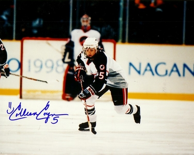Colleen Coyne autographed 1998 USA Women's Hockey Team 8x10 photo