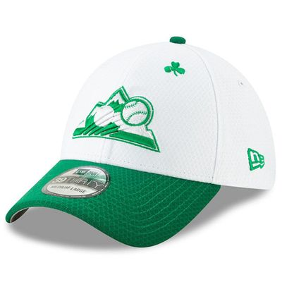 Colorado Rockies 2019 St. Patrick's Day authentic New Era 39THIRTY cap or hat NEW