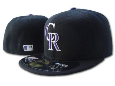 Colorado Rockies authentic New Era game model fitted cap or hat NEW