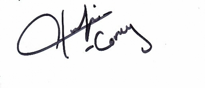 Corey Hawkins autograph or cut signature