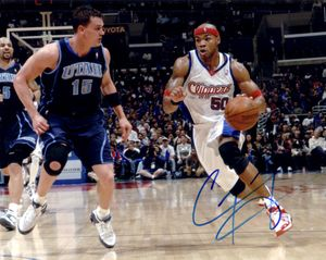 Corey Maggette autographed Los Angeles Clippers 8x10 photo