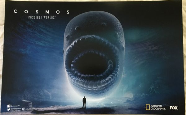 Cosmos Possible Worlds 2018 San Diego Comic-Con 11x17 inch Fox promo poster