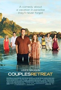 Couples Retreat movie mini poster (Malin Akerman & Vince Vaughn)