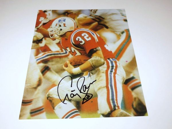 Craig James autographed New England Patriots 8x10 photo