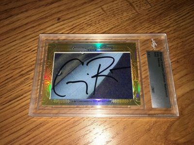 Craig Robinson 2016 Leaf Masterpiece Cut Signature certified autograph card 1/1 JSA Brooklyn Nine-Nine