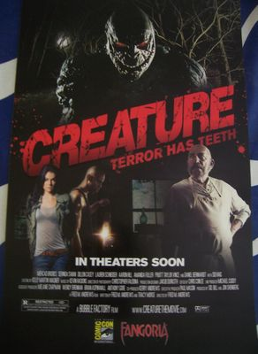 Creature movie 2011 Comic-Con exclusive promo poster MINT (Sid Haig)