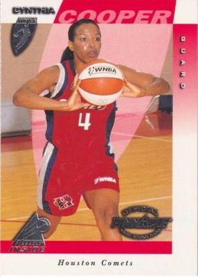 Cynthia Cooper Houston Comets 1997 Pinnacle Inside WNBA Rookie Card