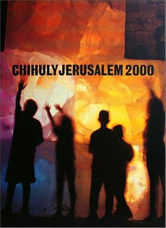 Dale Chihuly autographed Jerusalem 2000 hardcover coffee table book