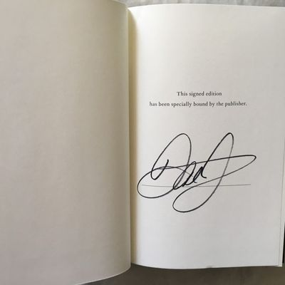 Dale Earnhardt Jr. autographed Racing to the Finish signed hardcover book