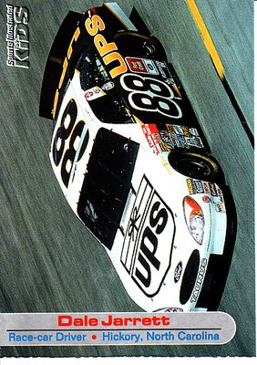 Dale Jarrett 2001 Sports Illustrated for Kids NASCAR card