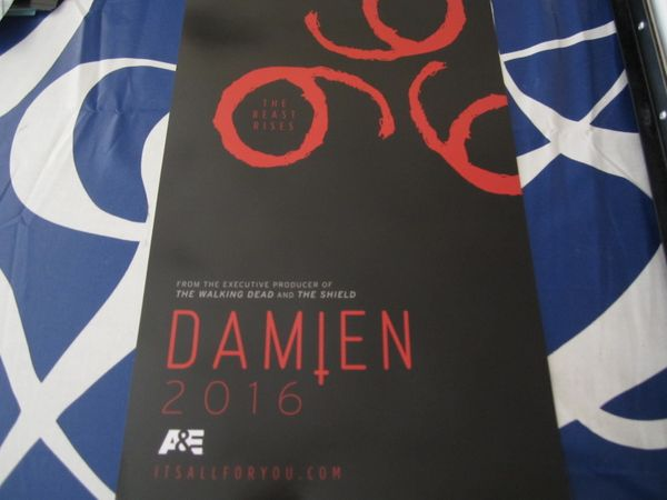 Damien The Beast Rises 2015 Comic-Con mini promo poster