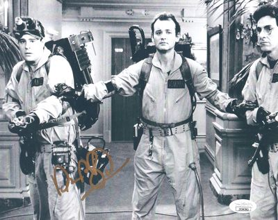 Dan Aykroyd autographed Ghostbusters 8x10 movie photo (JSA)