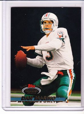 Dan Marino 1993 Stadium Club Members Only card